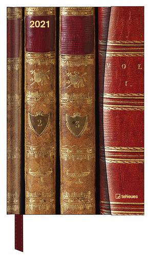 Antique Books 2021 – Buchkalender – Taschenkalender – 10×15