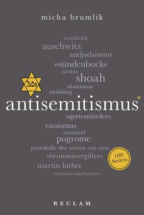 Antisemitismus. 100 Seiten von Brumlik,  Micha