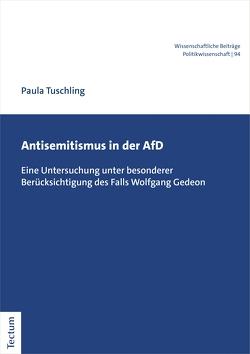 Antisemitismus in der AfD von Tuschling,  Paula