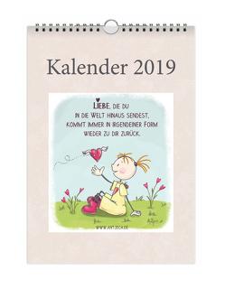 Antjeca Wandkalender 2019 von Antjeca