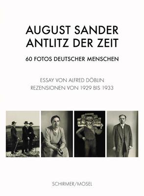 Antlitz der Zeit von Döblin,  Alfred, Sander,  August