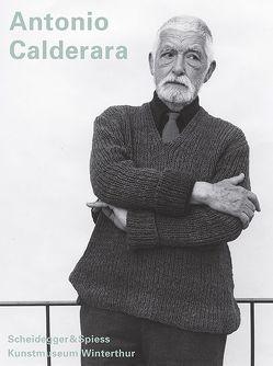 Antonio Calderara von Ciuccio,  Simona, Franz,  Erich, Gomringer,  Eugen, Kunstmuseum Winterthur