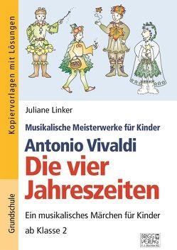 Antonio Vivaldi – Die vier Jahreszeiten von Linker,  Juliane