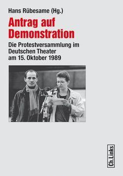 Antrag auf Demonstration von Rübesame,  Hans
