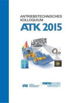 Antriebstechnisches Kolloqium 2015 von Jacobs,  Georg