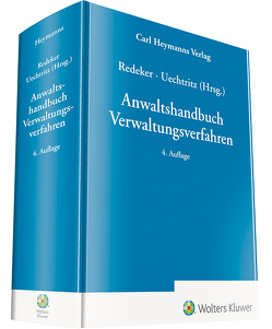 Anwaltshandbuch Verwaltungsverfahren von Redeker,  Konrad, Uechtritz,  Michael