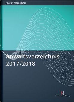 Anwaltsverzeichnis 2017/2018