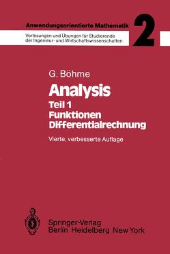 Anwendungsorientierte Mathematik von Böhme,  Gert