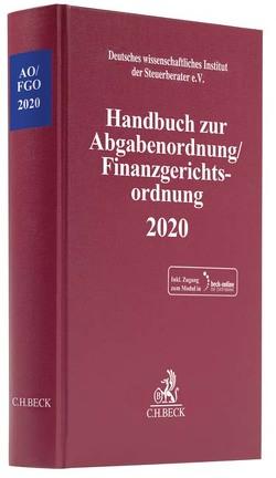 AO-Handbuch 2020 von Deutsches wissenschaftliches Institut der Steuerberater e.V.