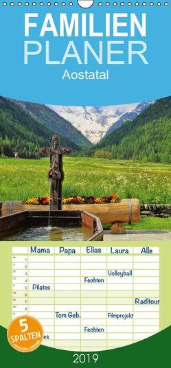Aostatal – Familienplaner hoch (Wandkalender 2019 , 21 cm x 45 cm, hoch) von LianeM
