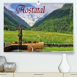 Aostatal (Premium, hochwertiger DIN A2 Wandkalender 2021, Kunstdruck in Hochglanz) von LianeM