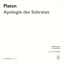 Apologie des Sokrates von Grube,  Axel, Platon