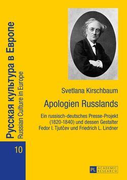 Apologien Russlands von Kirschbaum,  Svetlana