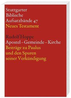 Apostel – Gemeinde – Kirche von Hoppe,  Rudolf