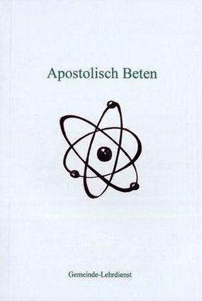 Apostolisch Beten von Sasek,  Ivo