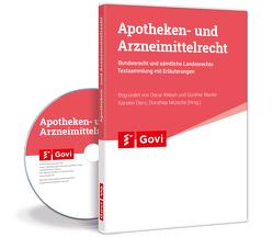 Apotheken- und Arzneimittelrecht von Blanke,  Günther, Diers,  Karsten, Nitzsche,  Dorothea, Wilson,  Oscar