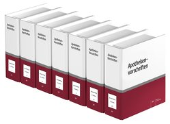 Apotheken-Vorschriften in Brandenburg von Gieskes,  Volker