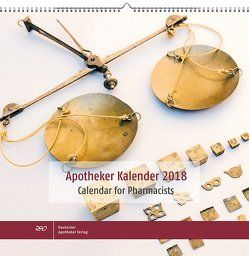 Apotheker Kalender 2018 Calendar for Pharmacists von Huwer,  Elisabeth