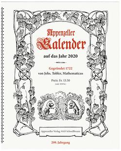 Appenzeller Kalender 2020 von Koenig,  Christine
