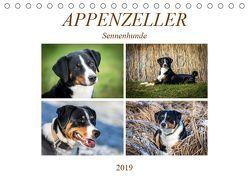 Appenzeller Sennenhunde (Tischkalender 2019 DIN A5 quer) von SchnelleWelten
