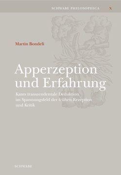 Apperzeption und Erfahrung von Bondeli,  Martin