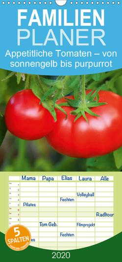 Appetitliche Tomaten – von sonnengelb bis purpurrot – Familienplaner hoch (Wandkalender 2020 , 21 cm x 45 cm, hoch) von CALVENDO