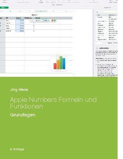Apple Numbers Formeln und Funktionen von Weiß,  Jörg