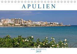Apulien – Eine Rundreise (Tischkalender 2019 DIN A5 quer) von Braunleder,  Gisela