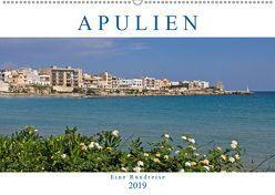 Apulien – Eine Rundreise (Wandkalender 2019 DIN A2 quer) von Braunleder,  Gisela