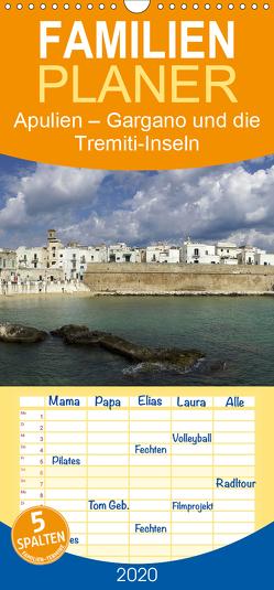 Apulien – Gargano und die Tremiti-Inseln – Familienplaner hoch (Wandkalender 2020 , 21 cm x 45 cm, hoch) von Hegerfeld-Reckert,  Anneli