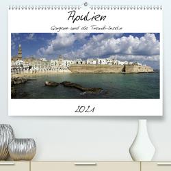 Apulien – Gargano und die Tremiti-Inseln (Premium, hochwertiger DIN A2 Wandkalender 2021, Kunstdruck in Hochglanz) von Hegerfeld-Reckert,  Anneli