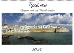 Apulien – Gargano und die Tremiti-Inseln (Wandkalender 2019 DIN A2 quer) von Hegerfeld-Reckert,  Anneli