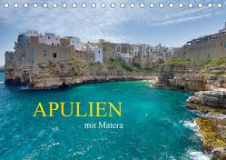 Apulien mit Matera (Tischkalender 2020 DIN A5 quer) von Rauchenwald,  Martin