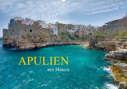 Apulien mit Matera (Wandkalender 2020 DIN A2 quer) von Rauchenwald,  Martin