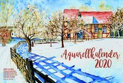 Aquarell-Kalender A3 2020