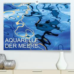 Aquarelle der MeereAT-Version (Premium, hochwertiger DIN A2 Wandkalender 2020, Kunstdruck in Hochglanz) von Sock,  Reinhard