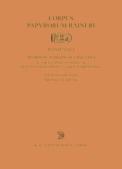 Arabische juristische Urkunden aus der Papyrussammlung der Österreichischen Nationalbibliothek von Thung,  Michael E.