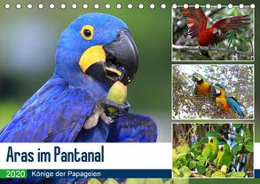 Aras im Pantanal (Tischkalender 2020 DIN A5 quer) von und Michael Herzog,  Yvonne
