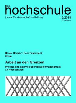 Arbeit an den Grenzen von Hechler,  Daniel, Pasternack,  Peer