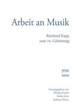 Arbeit an Musik von Grassl,  Markus, Jena,  Stefan, Vejvar,  Andreas