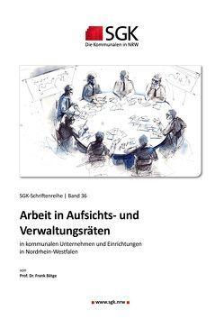 Arbeit in Aufsichts- und Verwaltungsräten von Prof. Dr. Frank,  Bätge