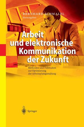 Arbeit und elektronische Kommunikation der Zukunft von Schmalzl,  Bernhard
