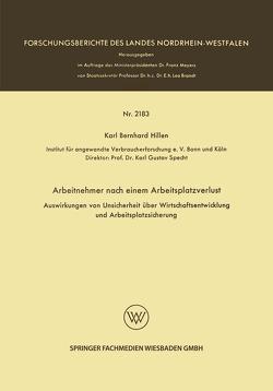 Arbeitnehmer nach einem Arbeitsplatzverlust von Hillen,  Karl Bernhard