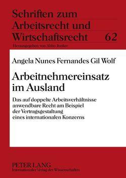 Arbeitnehmereinsatz im Ausland von Nunes Fernandes Gil Wolf,  Angela
