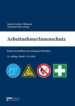 ArbeitnehmerInnenschutz von Alexandra,  Marx, Lechner-Thomann,  Andrea