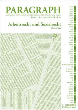 Arbeits- und Sozialrecht von Resch,  Reinhard