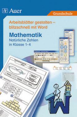 Arbeitsblätter mit Word – Mathematik 8er-Lizenz von Verlag,  Auer