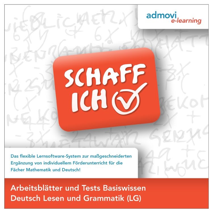 Arbeitsblätter Basiswissen Deutsch - Lesen und Grammatik von : Deutsc