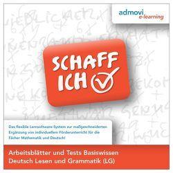 Arbeitsblätter Basiswissen Deutsch – Lesen und Grammatik