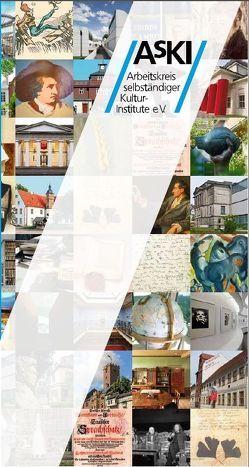 Arbeitskreis selbständiger Kultur-Institute e.V. – AsKI von Fechner,  Franz
